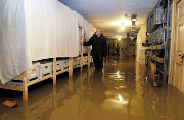 bishopthorpe undercroft flood