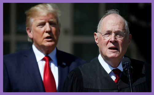Justice Anthony Kennedy Donald Trump