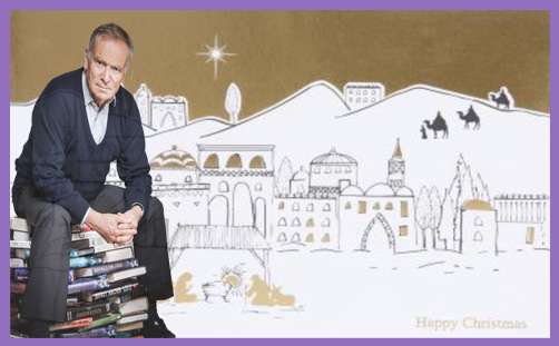 Lord Jeffrey Archer Christmas card