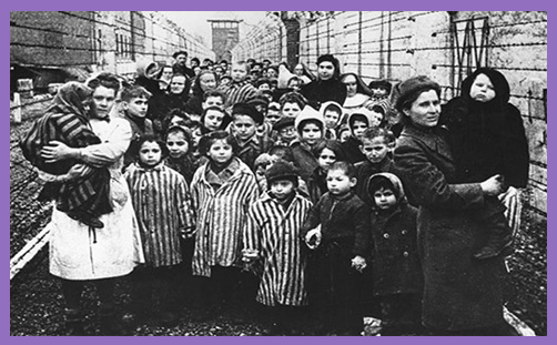 Holocaust Memorial Day Auschwitz children