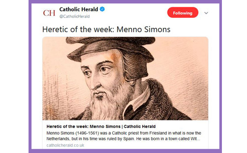 catholic herald heretic of the week