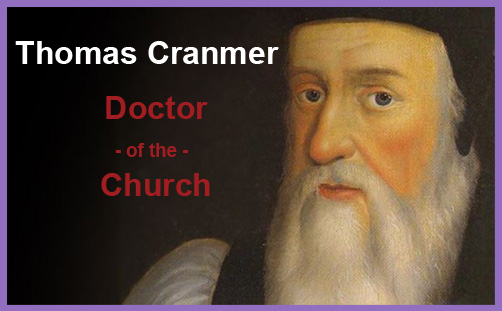 Cranmer doctor of the church
