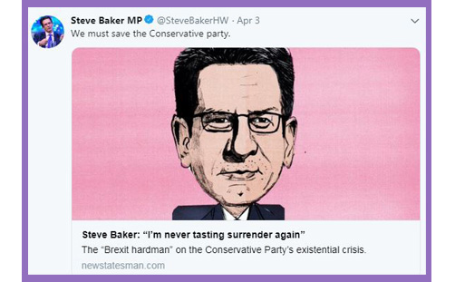 steve baker brexit conservative party