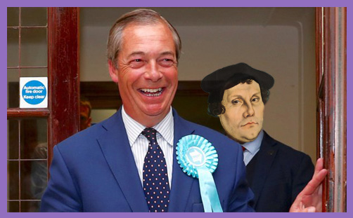 Farage Luther