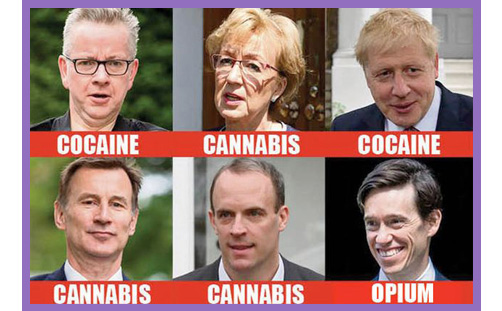 tory leaders drugs vice signalling