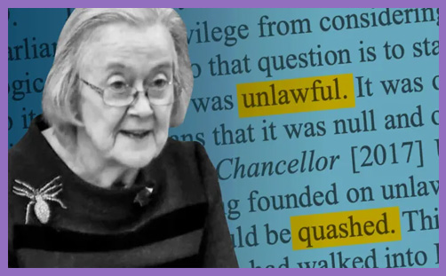 Lawfare Supreme Court Lady Hale