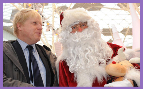 boris santa advent general election