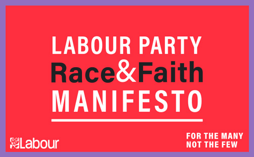 Labour race and faith manifesto religious education christianity