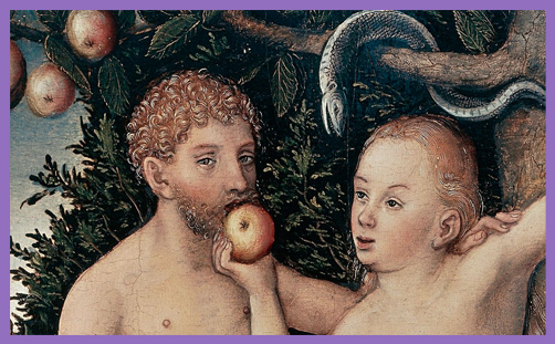 original sin adam eve apple