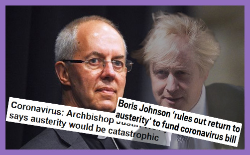 Welby Boris Johnson austerity