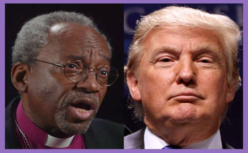 bishop michael curry trump bbc soul of america