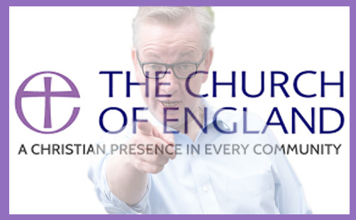 michael gove church england perception