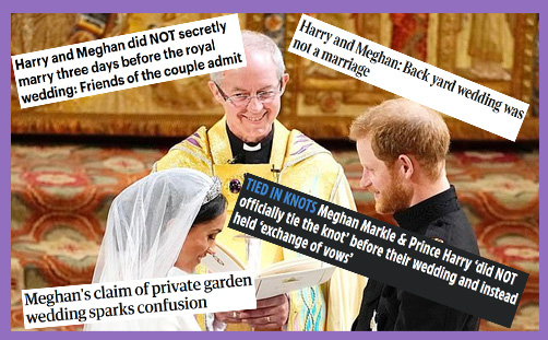 harry meghan married before royal wedding