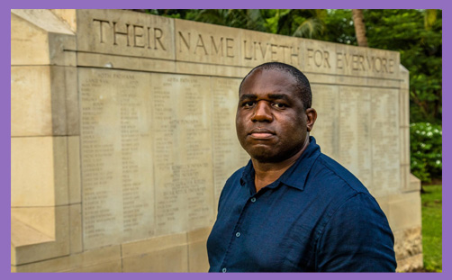 david lammy war graves empire racism