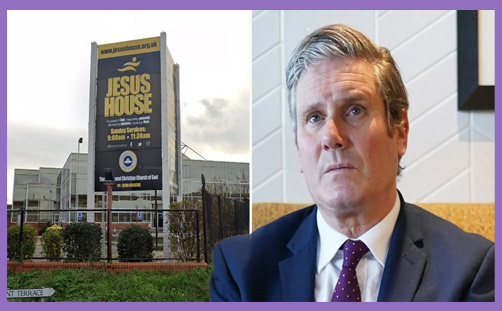 Starmer Jesus House church visit apology