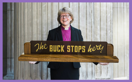Sarah Mullally Bishop of London the buck stops here